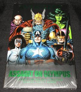 Avengers Assault On Olympus Premiere Edition Hardcover (Marvel) - New/Sealed!