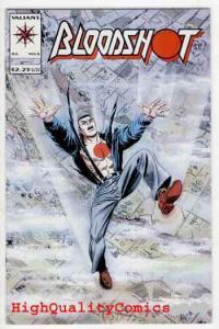 BLOODSHOT #6 ( x 3 copies ), NM+, Valiant, 1993, 1st Ninjak, Death, J Dixon