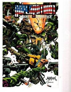 10 Marvel Comics Super Patriot # 1 2 3 4 Supreme # 1 4 5 45 Sword # 1 2 EK20
