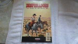 SEPT. 2001 HOMAGE COMICS DESPERADOES # 3 OF 5