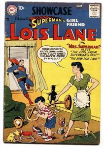 SHOWCASE COMICS #9 comic book 1957-1st solo SUPERMAN'S GIRLFRIEND LOIS LANE