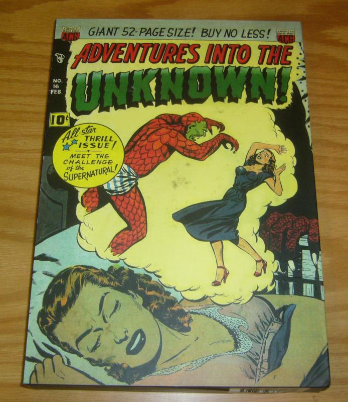 Adventures Into The Unknown - Collected Works HC 4 VF/NM hardcover w/slipcase