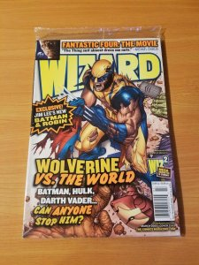 Wizard Magazine #161 ~ NEAR MINT NM ~ March 2005 Seal in Poly Bag