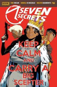 SEVEN SECRETS #10 COVER A DI NICUOLO - BOOM! STUDIOS - JULY 2021