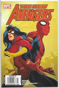 New Avengers (vol. 1, 2005) #59 FN Bendis/Immonen, Spider-Woman, Spider-Man