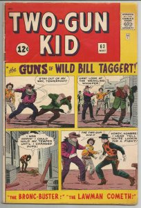 Two-Gun Kid #63 - Very Good- 3.5 (1963)