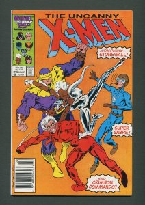 Uncanny X-Men #215  / 9.4 NM- 9.6 NM+ / Newsstand / March 1987