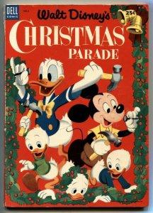 Walt Disney's Christmas Parade #5 1953- Dell Giant VG