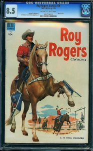 Roy Rogers #76 (Dell, 1954) CGC 8.5