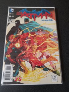 BATMAN 38 TONY DANIEL VARIANT FLASH NEW 52