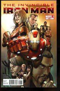 Invincible Iron Man #500.1 (2011)