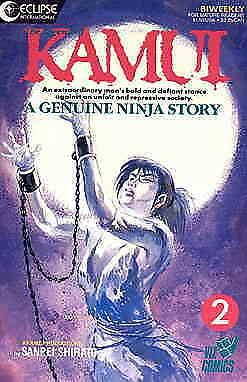 Legend of Kamui, The #2 VF/NM; Eclipse | save on shipping - details inside