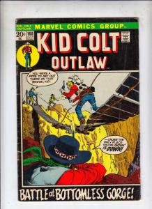 Kid Colt Outlaw #160 (Jul-72) VG Affordable-Grade Kid Colt