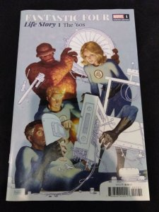 Fantastic Four Life Story The '60s #1 of 6 Paolo Rivera 1:25 Variant Marvel