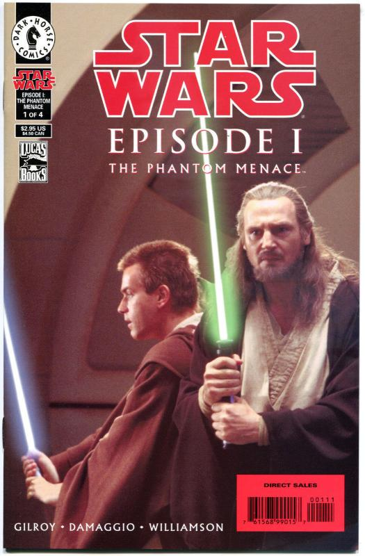 STAR WARS Episode 1 - PHANTOM MENACE #1 2 3 4, NM, 1999,  more SW in store