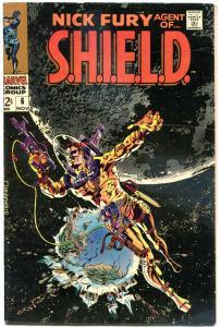 NICK FURY, AGENT of SHIELD #6 7 8, FN+ VF+, Jim Steranko, 1968, more in store