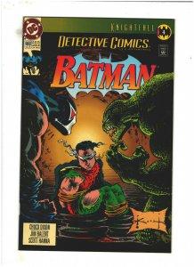 Detective Comics #660 VF/NM 9.0 DC Batman Knightfall pt.4 Bane, vs. Killer Croc
