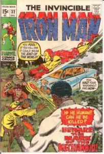 IRON MAN 32 VG Dec. 1970 COMICS BOOK