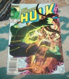 Incredible Hulk  # 301 1984 Marvel crossroads monster IMMORTAL ? low grade
