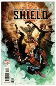 S.H.I.E.L.D. #1 Variant Edition (Marvel, 2015) NM