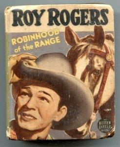 Roy Rogers Robinhood of the Range Big Little Book 1942