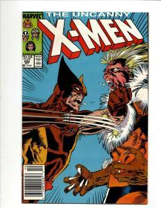Uncanny X-Men # 222 NM Marvel Comic Book Wolverine Wendigo Storm Cyclops DS4
