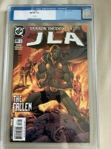 DC Comics JLA #56 CGC 9.8 Hitch Cover September 2001 WP