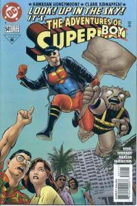 Adventures of Superman (1987 series) #541, NM (Stock photo)