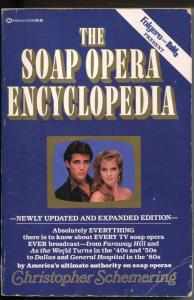 Soap Opera Encyclopedia 1988-revised & expanded-used-350+ pages-G