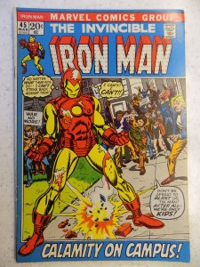 INVINCIBLE IRON MAN # 45 MARVEL SHARP BRONZE ACTION ADVENTURE