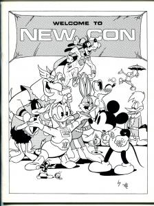 New Con Program Book 1975-Gil Kane-Carl Barks-Joe Staton-Martin Greim-NM