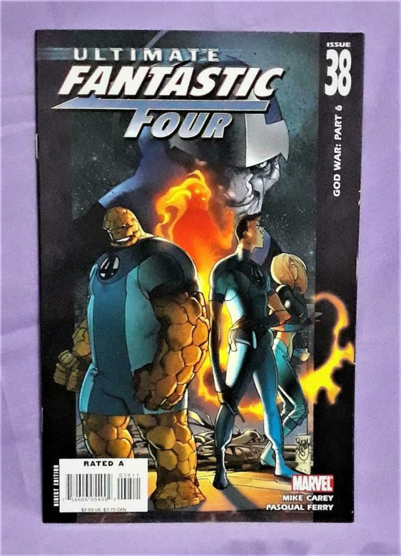 Mike Carey ULTIMATE FANTASTIC FOUR #33 - 38 Pasqual Ferry (Marvel, 2006)!