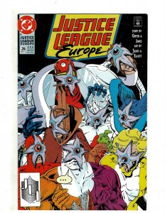 12 Justice League Europe DC Comics # 26 27 28 29 30 31 32 33 34 35 36 37 HG2
