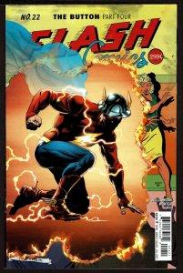 Batman #22 Rebirth Flash Cover (Jul 2017, DC) 0 9.0 VF/NM
