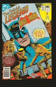 DC Comics The Untold Legend of The Batman Vol 1 No 1 July 1980