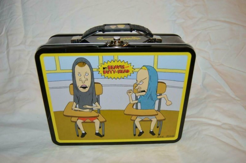 MTV - BEAVIS and BUTTHEAD Lunch Box Stash Metal 2011, new out of case