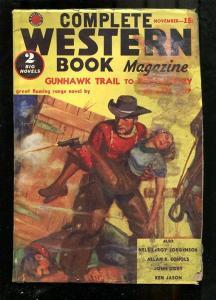 COMPLETE WESTERN PULP-1939-NOV-ALLAN ECHOLS-GUNS & GIRL FR/G