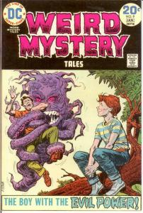 WEIRD MYSTERY TALES 9 FINE Jan. 1974 COMICS BOOK