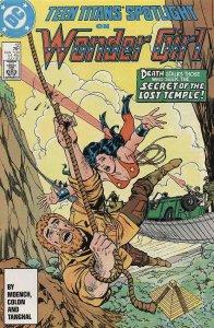 Teen Titans Spotlight #12 VF; DC   save on shipping - details inside