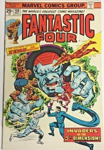 FANTASTIC FOUR#158 FN/VF 1975 MARVEL BRONZE AGE COMICS