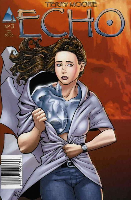 Echo (Abstract) #3 VF/NM; Abstract | save on shipping - details inside