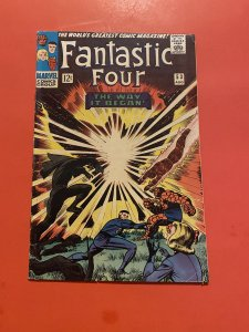 Fantastic Four #53 (VG/FN) 1st appearance of Klaw 2nd Black Panther 1st T...