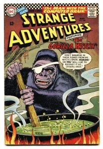 Strange Adventures #186 1966-Gorilla Witch-DC Silver Age VG+