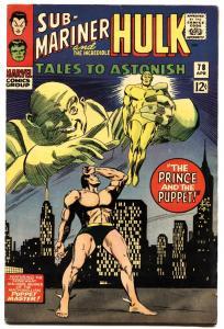 TALES TO ASTONISH #78 1965-HULK SUB-MARINER-MARVEL vf-