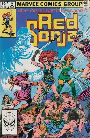 Marvel RED SONJA (1983 Series) #2 FN-