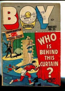 BOY  #35-1947-LEV GLEASON-MAURER-BARRY-DAREDEVIL-DICK TRACY-good/vg