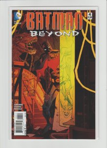Batman Beyond #4 NM- 9.2 Dan Panosian Cover!