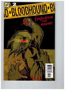 Bloodhound # 2 NM 1st Print DC Comic Book Batman Superman Flash Green Arrow J41