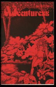ADVENTURESS #10-1982-GOOD GIRL ART-COMIC FANZINE VF