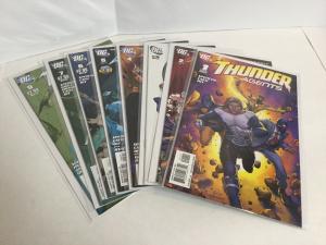 Thunder Agents 1-7 9 Lot Set Run Nm Near Mint DC Comics A42